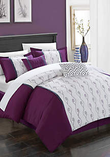 Chic Home Priston Bed In a Bag Comforter Set