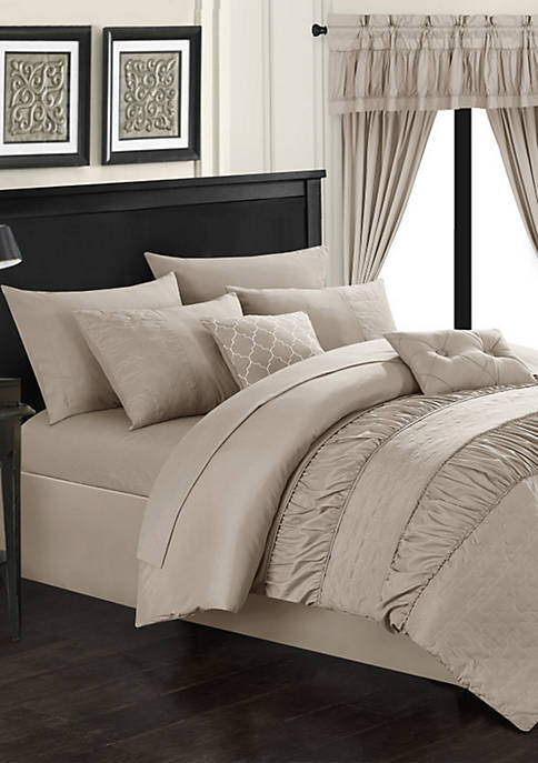 Chic Home Mykonos Bed In a Bag Comforter