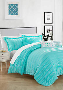 Chic Home Hadassah Bed In a Bag Comforter Set