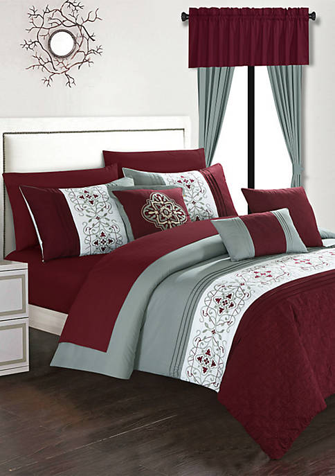 Chic Home Emily Bed In a Bag Comforter