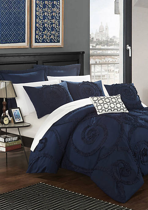 Chic Home Rosalia Bed In a Bag Comforter