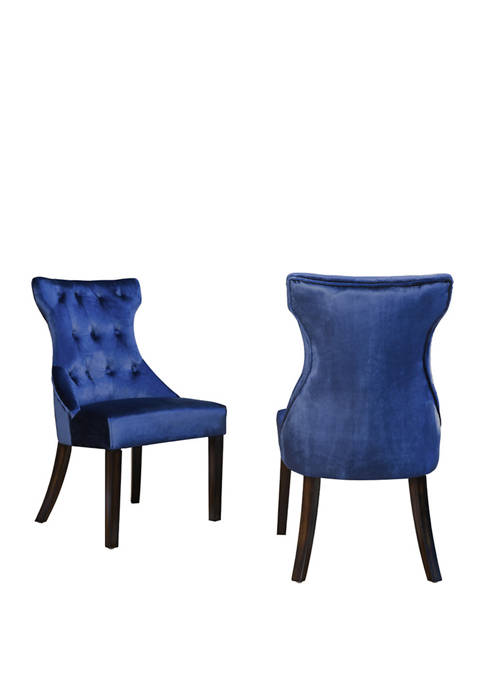 Chic Home Set of 2 Dickens Dining Chairs