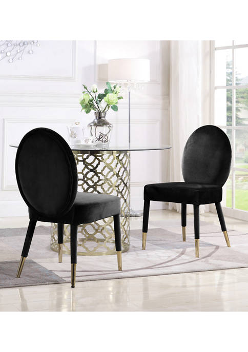 Chic Home Set of 2 Leverett Dining Chairs