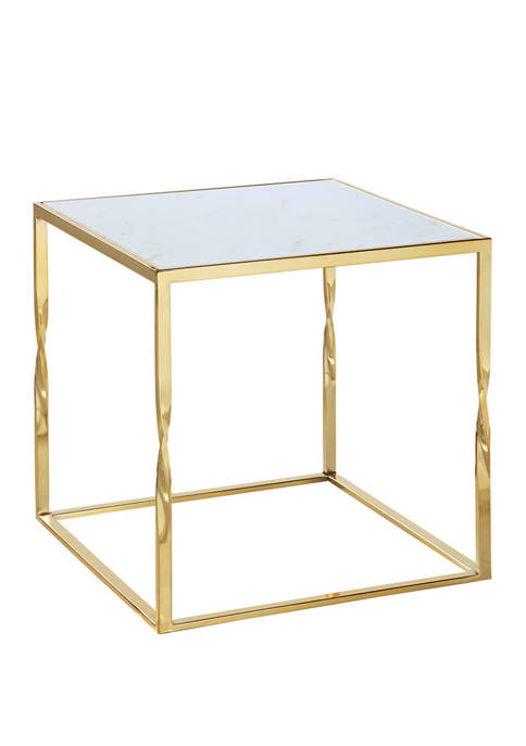 Chic Home Rialto Side Gold Table