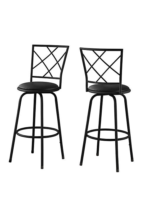 Monarch Specialties Inc. Bar Stools, Set of 2