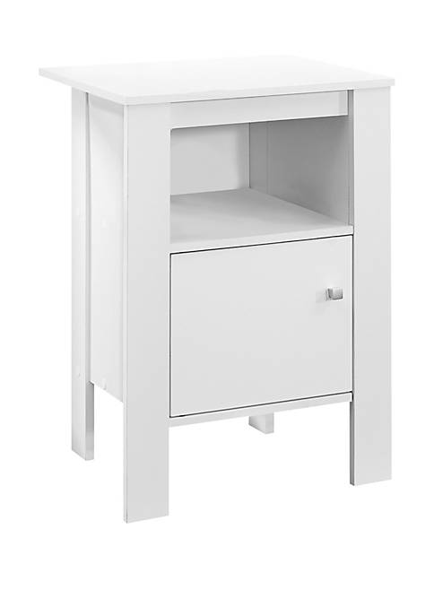 Monarch Specialties Inc. Accent Table with Storage