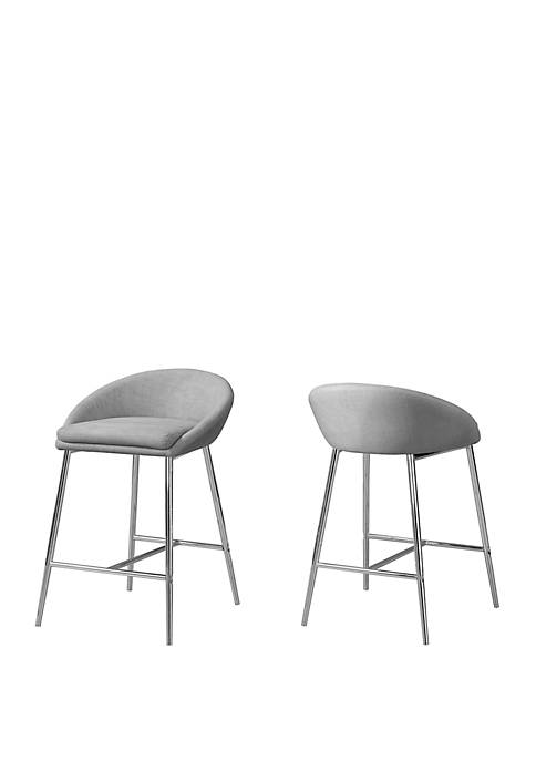 Monarch Specialties Inc. Set of 2 Barstools