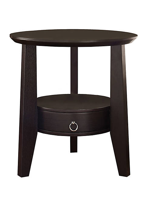 Monarch Specialties Inc. Side Table with Drawer