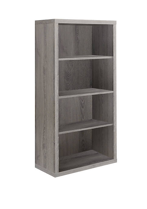 Monarch Specialties Inc. Bookcase with Adjustable Shelves