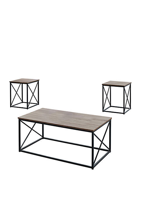 Monarch Specialties Inc. 3 Piece Table Set