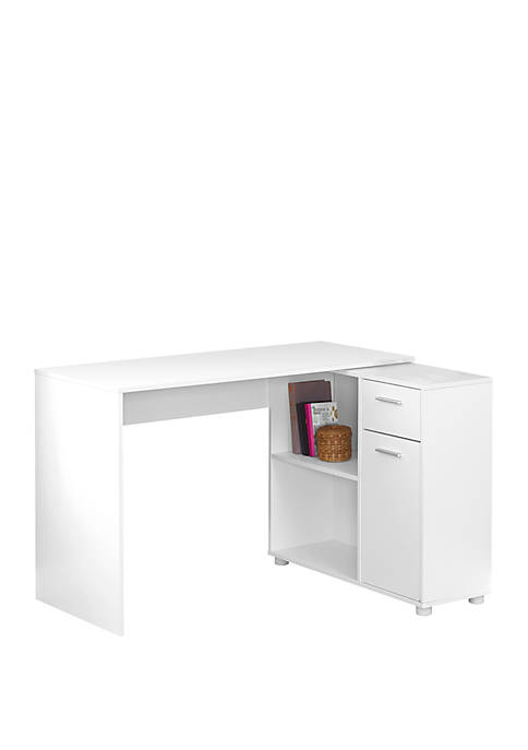 Monarch Specialties Inc. Computer Desk with Storage