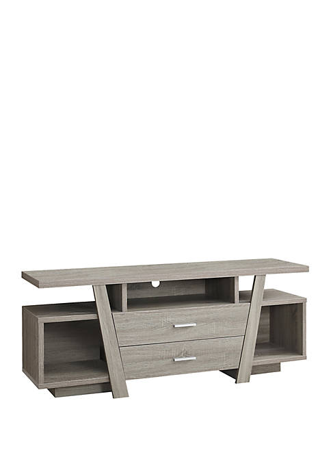 Two Storage Drawer TV Stand