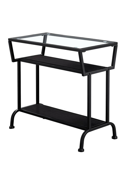Monarch Specialties Inc. Accent Table with Glass