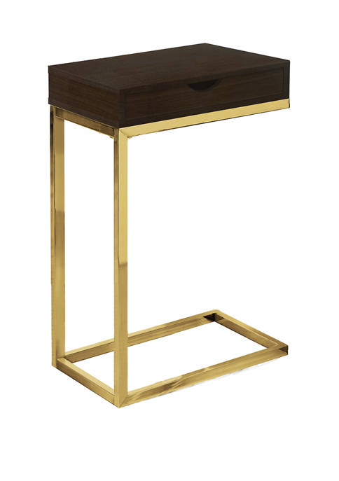 Monarch Specialties Inc. Gold and Dark Brown Accent