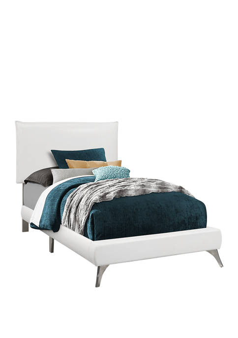 White Twin Size Bed Frame