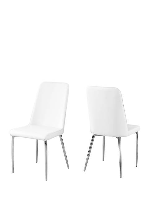 Monarch Specialties Inc. 2 Piece Dining Chair Set