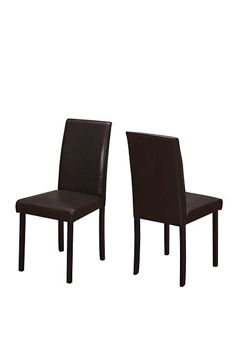 Monarch Specialties Inc. Set of 2 Dining Chair