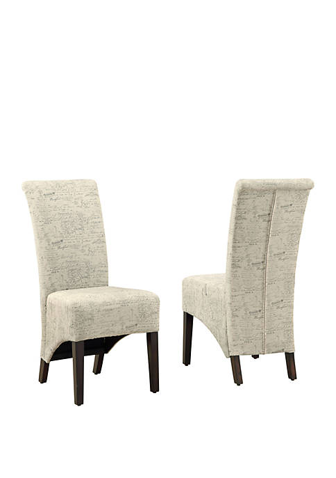 Set of 2 Dining Chair Set