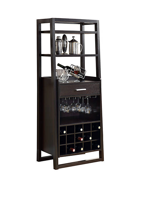 Monarch Specialties Inc. Ladder Style Home Bar