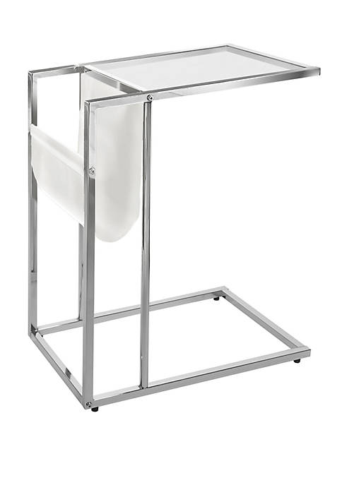 Monarch Specialties Inc. Accent Table with Magazine Rack