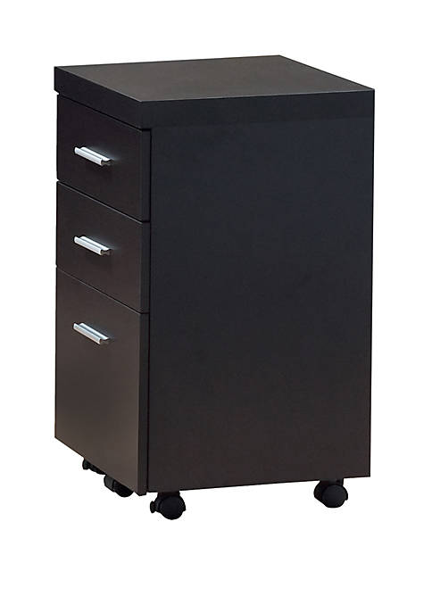 Monarch Specialties Inc. Three Drawer Filing Cabinet