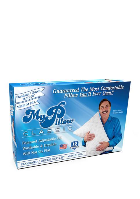 Classic Medium Pillow- Queen