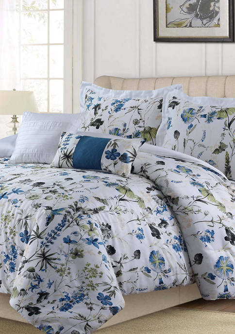 Amalfi 5-Piece 300 Thread Count Cotton Comforter Set