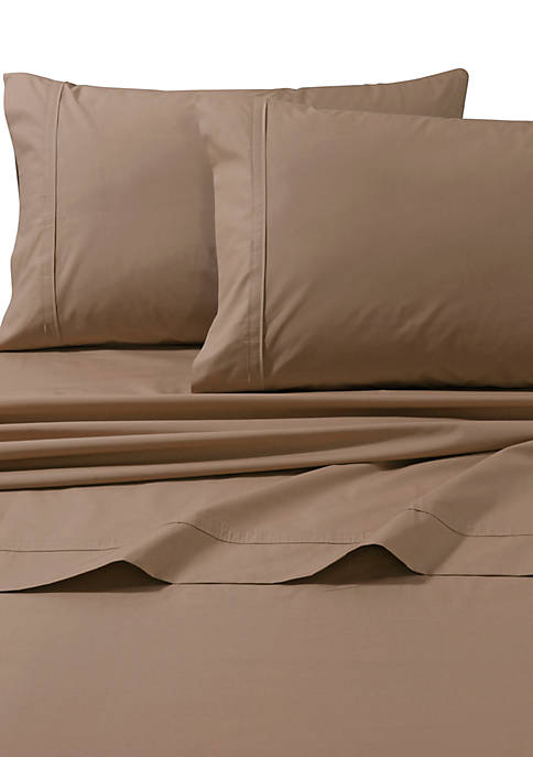 King Percale Pillowcase Set of 2