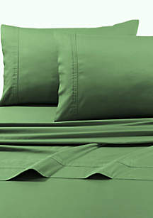 Egyptian Cotton Sateen 500 Thread Count Oversized Flat and Deep Pocket Fitted Sheets Separates