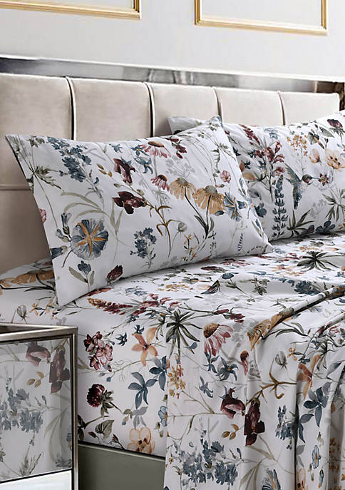 Tribeca Living Amalfi Printed 300 Thread Count Cotton