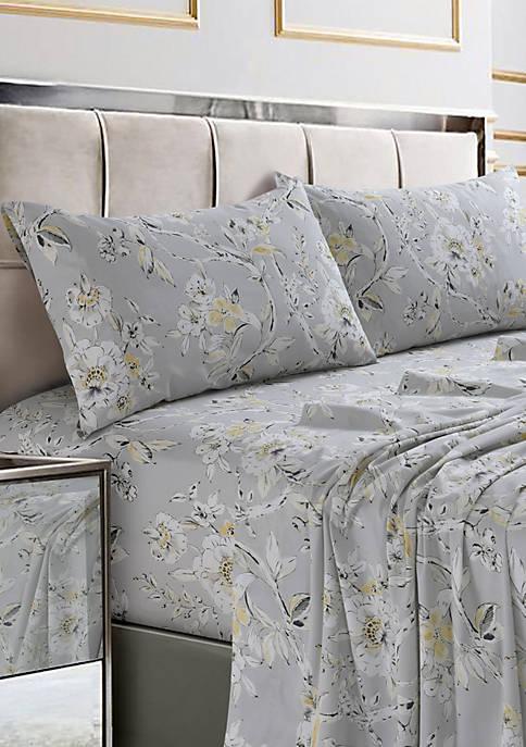 Colmar Printed Cotton Sateen Pillow Pair