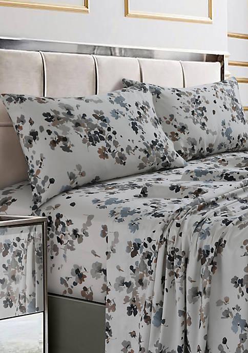 Lisbon Printed Cotton Sateen Pillow Set