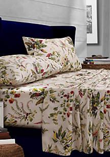 Maui Floral Printed Percale Extra Deep Pocket Sheet Set