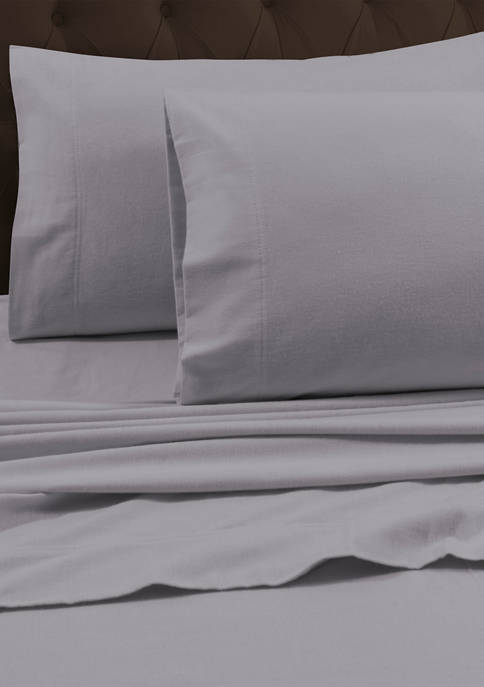 Luxury 170 GSM Solid Flannel Pillowcase Set