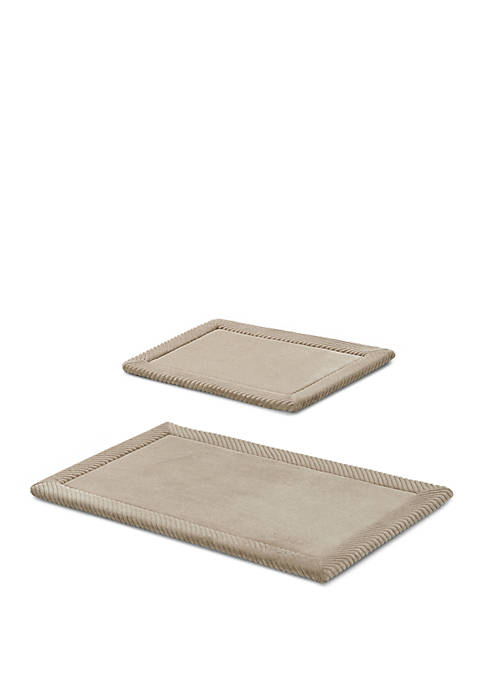 VCNY Home Memory Foam 2 Pack Rug
