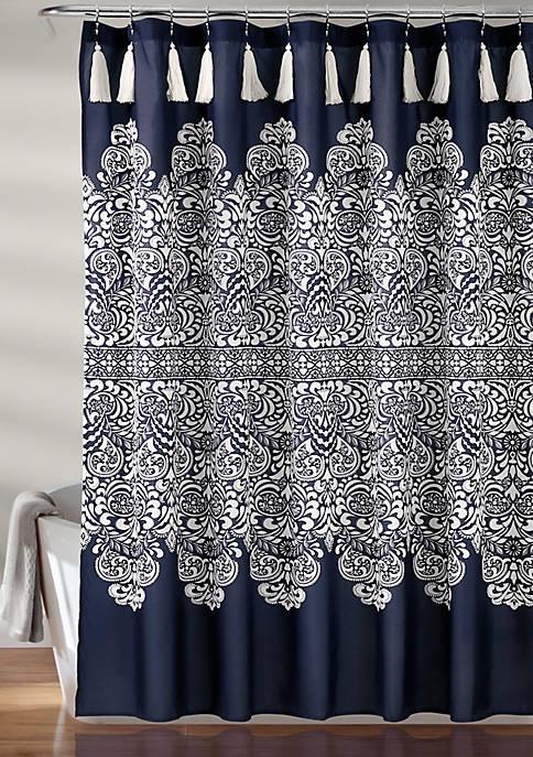 Boho Medallion Shower Curtain