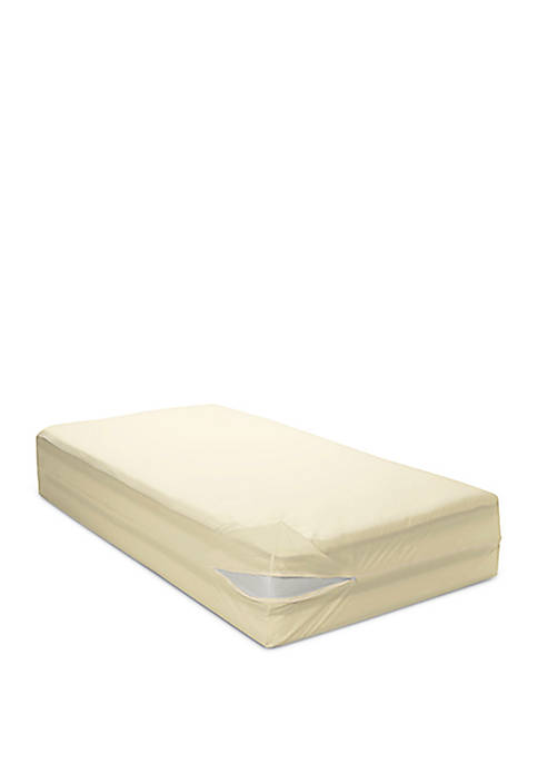12 in Deep Organic All Cotton Allergy Mattress Cover