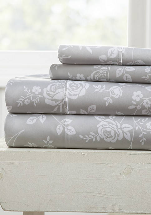 Luxury Inn Premium Ultra Soft Rose Gray Pattern