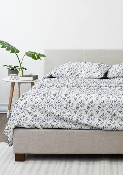Luxury Inn Premium Ultra Soft Blossoms Pattern Bed