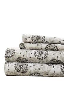 Luxury Inn Premium Ultra Soft Make a Wish Pattern Bed Sheet Set