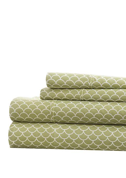 Luxury Inn Premium Ultra Soft Scallops Pattern Bed