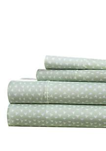 Luxury Inn Premium Ultra Soft Urban Arrows Pattern Bed Sheet Set