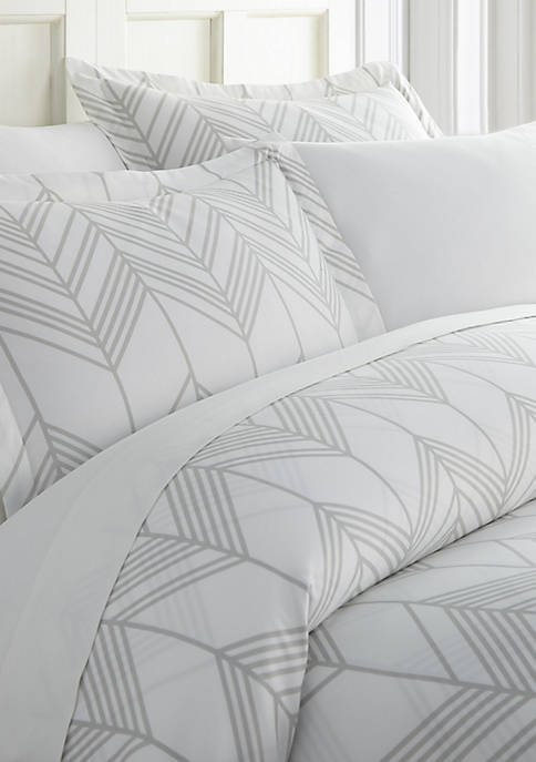 Luxury Inn Premium Ultra Soft Alps Chevron Pattern