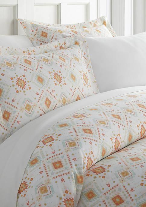 Premium Ultra Soft Aztec Dreams Pattern Duvet Cover Set