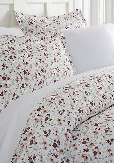 Home Collection Premium Ultra Soft Blossoms Print Duvet