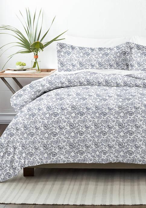 Luxury Inn Premium Ultra Soft Coarse Paisley Print