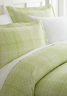 Luxury Inn Premium Ultra Soft Polka Dot Pattern Duvet Cover Set