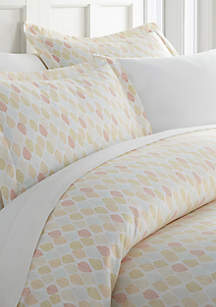 Luxury Inn Premium Ultra Soft Fall Foliage Pattern Duvet Cover Set