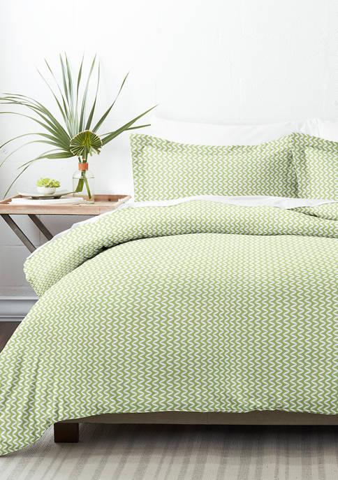 Luxury Inn Premium Ultra Soft Puffed Chevron Print