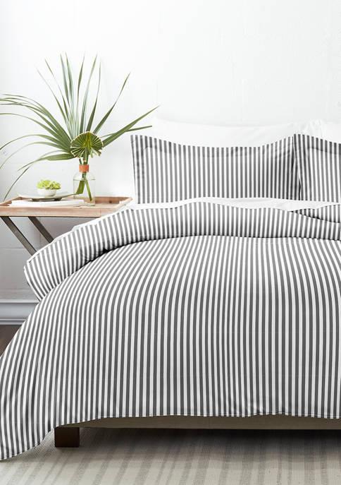 Premium Ultra Soft Ribbon Pattern Duvet Cover Set